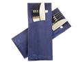 Pochetto Standaard Design Marmer Blauw