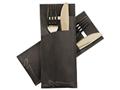 Pochetto Standaard Design Marmer Zwart